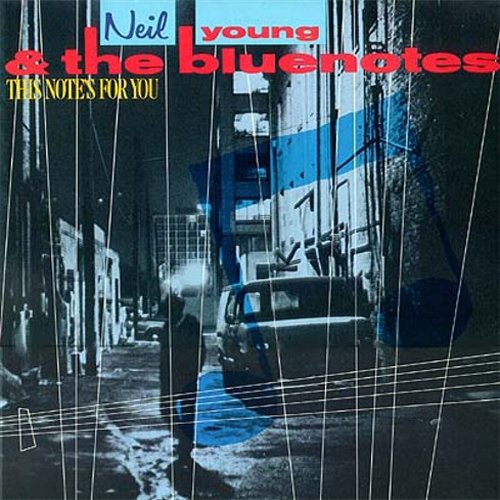 Neil Young & The Bluenotes ‎– This Note's For You [LP]