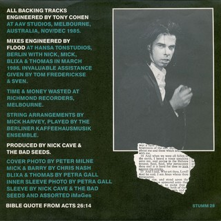 Nick Cave & The Bad Seeds - Kicking Against The Pricks [LP] - loja online