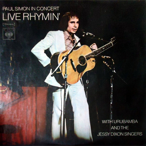 Paul Simon - Live Rhymin' [LP]