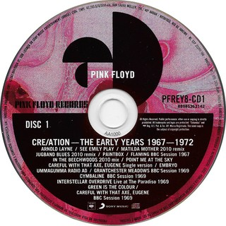 Pink Floyd - Cre/Ation - The Early Years (1967-1972) [CD Duplo] na internet
