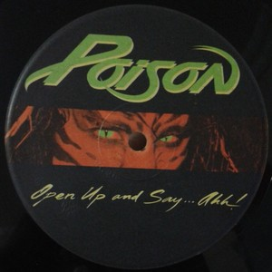 Poison - Open Up And Say...Ahh! [LP]  na internet