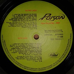 Poison - Open Up And Say...Ahh! [LP]