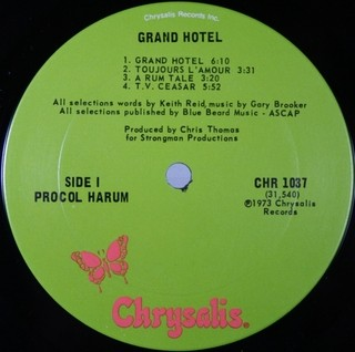 Procol Harum - Grand Hotel [LP] - loja online