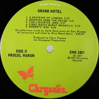 Imagem do Procol Harum - Grand Hotel [LP]