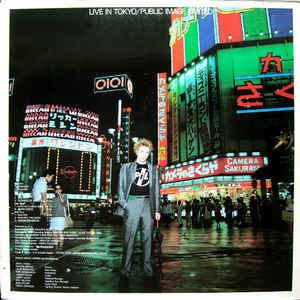 Public Image Limited ‎– Live In Tokyo [LP Duplo]
