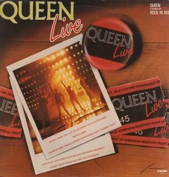Queen - Live: Rock in Rio 1985 [LP]