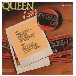 Queen - Live: Rock in Rio 1985 [LP] na internet