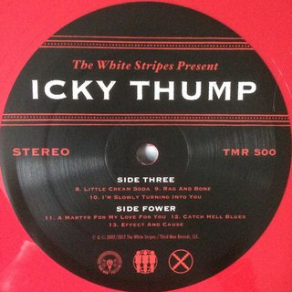 White Stripes - Icky Thump X [Box 4 LPs + Livro] - 180 Selo Fonográfico