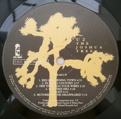 U2 - The Joshua Tree [LP]