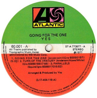Yes - Going For the One [LP] na internet