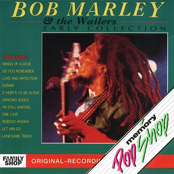 Bob Marley & The Wailers ‎– Early Collection [LP]