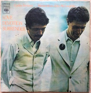 Carlos Santana & Mahavishnu John McLaughlin ‎– Love Devotion Surrender [LP]