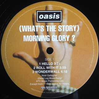 Oasis - (What´s The Story) Morning Glory [LP Duplo] - 180 Selo Fonográfico