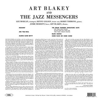 Art Blakey And The Jazz Messengers - Art Blakey And The Jazz Messengers [LP] na internet