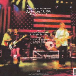 Neil Young & Crazy Horse - Live At Farm Aid In New Orleans: September 19, 1994 [LP] na internet