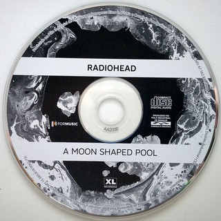Radiohead - A Moon Shaped Pool [CD] - loja online