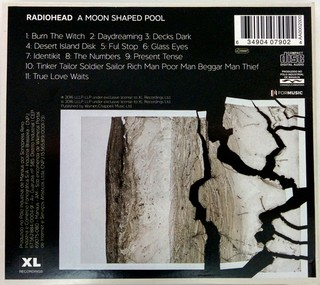 Radiohead - A Moon Shaped Pool [CD] na internet