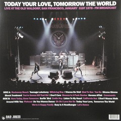 Ramones - Today Your Love, Tomorrow The World [LP]