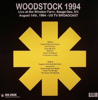 Red Hot Chili Peppers - Woodstock 1994 [LP] na internet