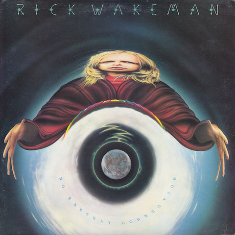 Rick Wakeman And The English Rock Ensemble - No Earthly Connection [LP]