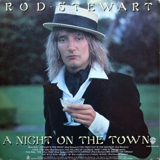 Rod Stewart - A Night On The Town [LP]   na internet