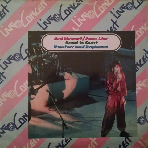Rod Stewart / Faces - Live Coast To Coast: Overture And Beginners [LP]