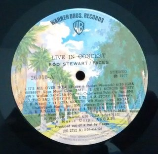 Rod Stewart / Faces - Live Coast To Coast: Overture And Beginners [LP] na internet