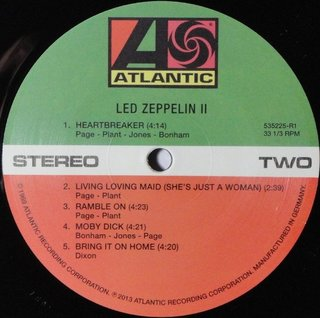 Led Zeppelin - II Deluxe Vinyl Edition [LP Duplo] na internet
