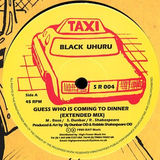 Black Uhuru / Sly & Robbie & Taxi Gang - Guess Who Is Coming To Dinner [LP] na internet