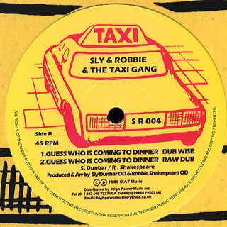 Black Uhuru / Sly & Robbie & Taxi Gang - Guess Who Is Coming To Dinner [LP] - 180 Selo Fonográfico