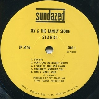 Sly & The Family Stone - Stand! [LP] - 180 Selo Fonográfico
