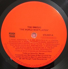 Smiths - The World Won`t Listen [LP]