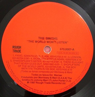 Smiths - The World Won`t Listen [LP] - loja online