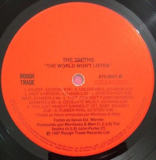 Imagem do Smiths - The World Won`t Listen [LP]