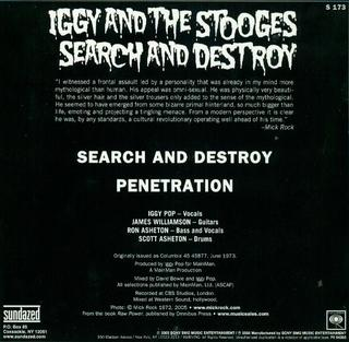 Stooges - Search & Destroy [Compacto] - comprar online