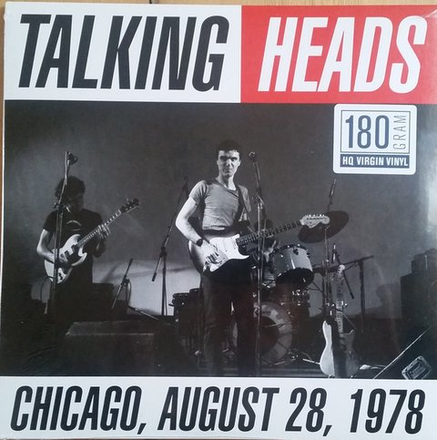 Talking Heads - Chicago, August, 28, 1978 [LP]