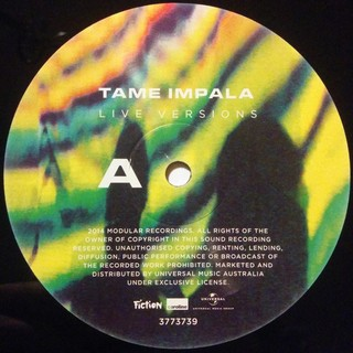Tame Impala - Live Versions [LP] - loja online