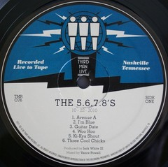 The 5.6.7.8`s - Live at Third Man [LP]
