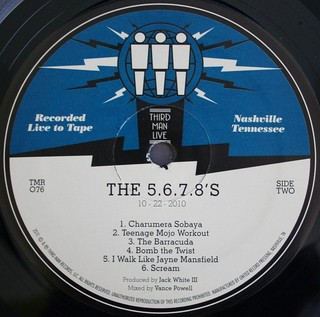 The 5.6.7.8`s - Live at Third Man [LP] - 180 Selo Fonográfico