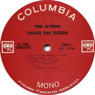 Byrds - Younger Than Yesterday [LP] - loja online