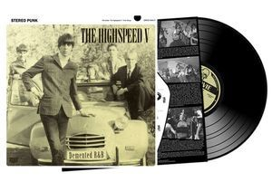 The Highspeed V - Demented R&B [LP] - 180 Selo Fonográfico
