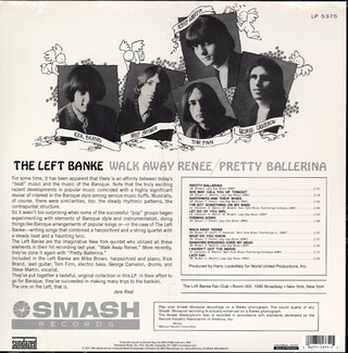Left Banke - Walk Away Renée / Pretty Ballerina [LP] - comprar online