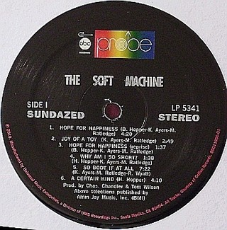 Soft Machine - The Soft Machine [LP] - loja online