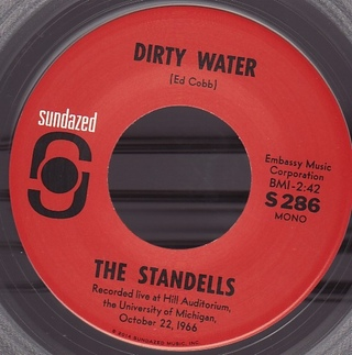 Standells - Dirty Water / Twitchin' [Compacto] - 180 Selo Fonográfico