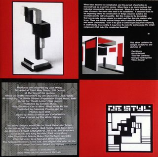 White Stripes - De Stijl [LP] - 180 Selo Fonográfico