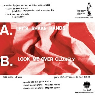 White Stripes - Let's Shake Hands [Compacto] - comprar online