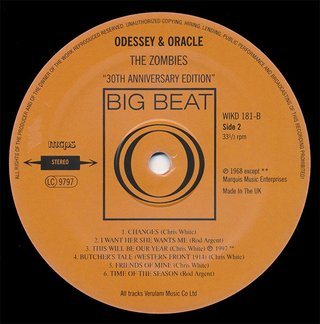 The Zombies - Odessey & Oracle [LP] - 180 Selo Fonográfico