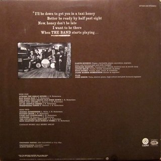 The Band ‎– The Band [LP] - comprar online