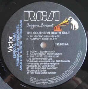 The Southern Death Cult ‎– The Southern Death Cult [LP] na internet