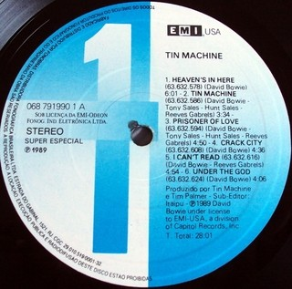 Tin Machine - Tin Machine [LP]  na internet